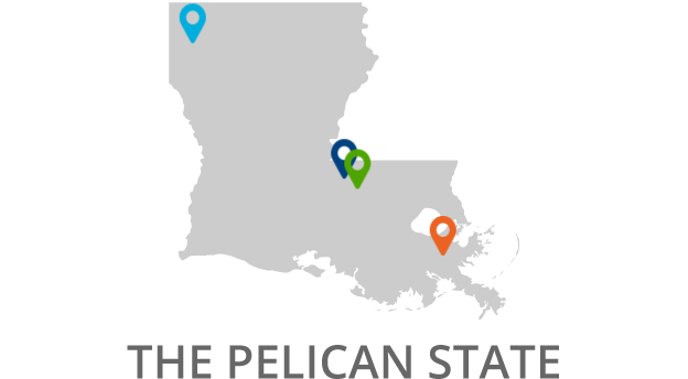 Louisiana 2x